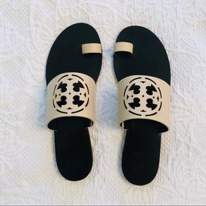 Tory Burch zoey toe ring slides